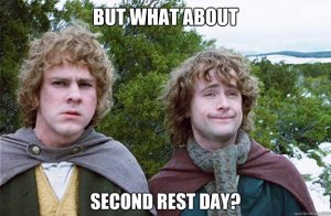 Second Rest Day